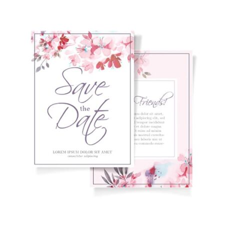 A Toast for You Wedding Card